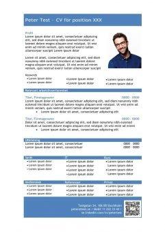 1 Mall-CV-profil-tabellform-blå