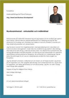 1 Brand and Business Development - Nyutexaminerad