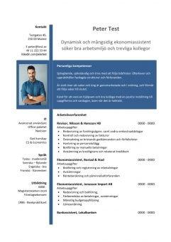 1 CV_ekonomiassistent - bla
