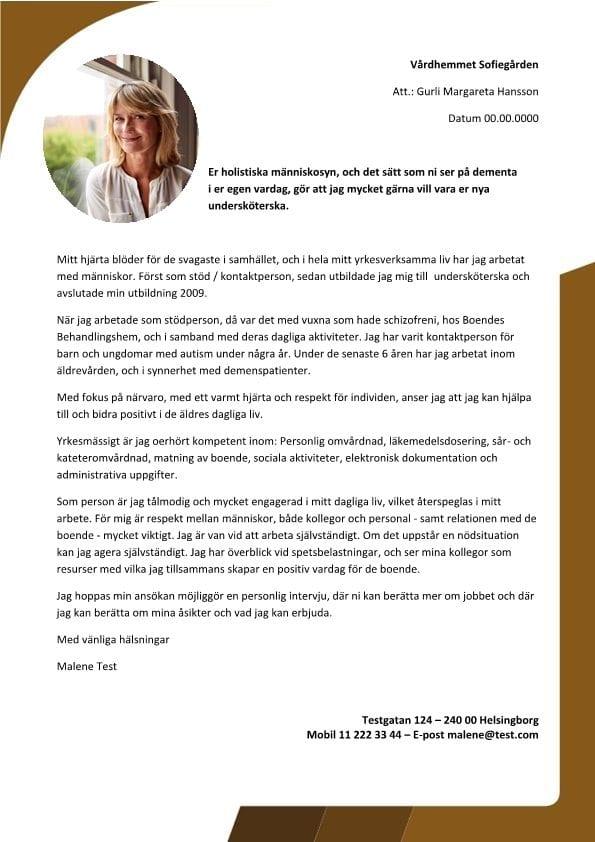 Undersköterska med holistisk människosyn
