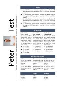 1 CV-mall-tabell-och-bild