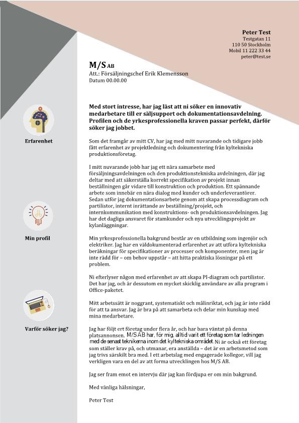 1 Medarbetare - saljsupport och dokumentavdeling